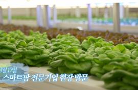 미래산업 스마트팜 전문기업 현장 방문_영상자료